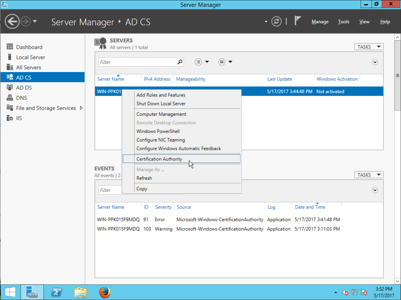 Frasers Idm Blog Installing Freeipa With An Active Directory